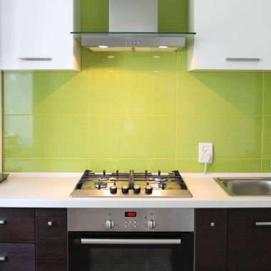 Modern domestic Kitchen interior design